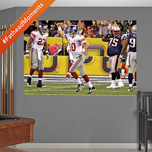 Eli Manning Super Bowl XLVI Celebration Mural Fathead Wall Decal